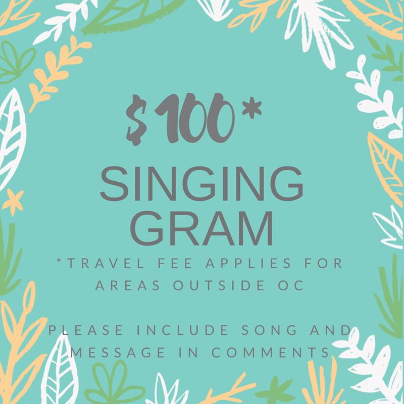 Singing Gram